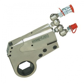 Low clearance hydraulic torque wrench WX